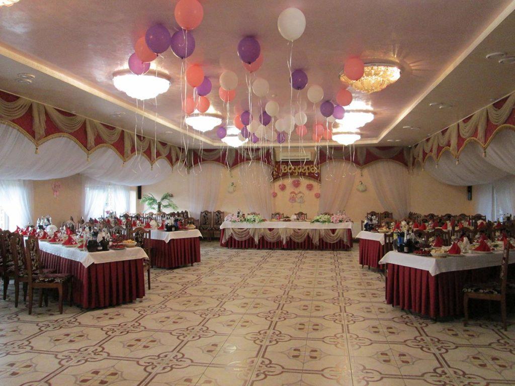 Фото банкетного залу Водограй